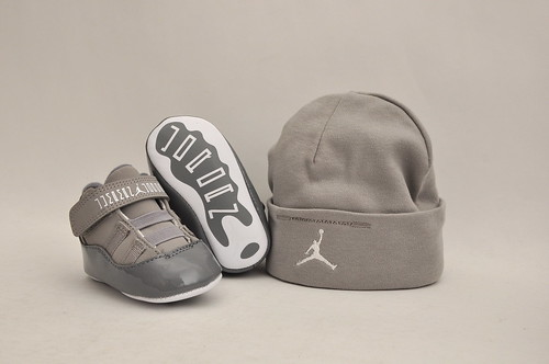 "AJ Retro 11 ""Cool Grey"" Infants"