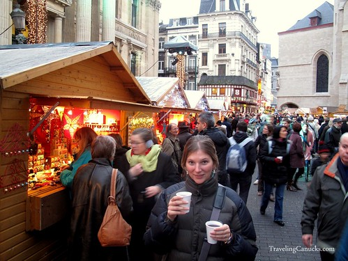 Gluhwein at the Brussels Christmas Market