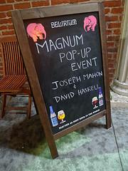 Magnum at Biergarten