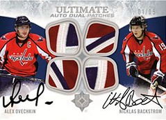Ultimate Dual Patch Auto (Sportsology) Tags: upperdeck hockeycards ultimatecollection 201011ultimatehockey upperdeckhockeycards