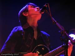 IMG_7903_filtered (wojo4hitz) Tags: lighting sarah female concert sara tour guitar live forum may australia melbourne victoria indie vic 11th teagan aussie con ts teganandsara jealous 2010 tegan tns sainthood 110510 51110