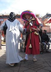 Personaggio di piazza Jama'a el-Fnaa a Marrakesh (Armando Moreschi) Tags: africa maroc marocco marrakesh afrique jama'aelfnaa