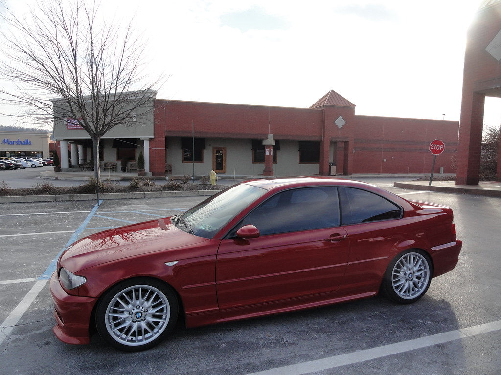 Thread fs 2005 bmw 330ci zhp imola red 81k slightly modded miles