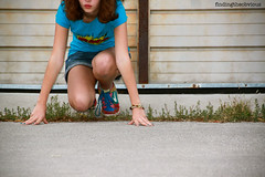 Go. (findingtheobvious) Tags: start self garage go run line timer findingtheobvious