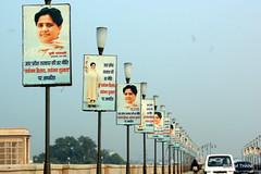 Mayawati's mayanagri (Raju Bist) Tags: