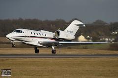 P4-BUS - 750-0271 - Jet Airlines - Cessna 750 Citation X - Luton - 100205 - Steven Gray - IMG_6953