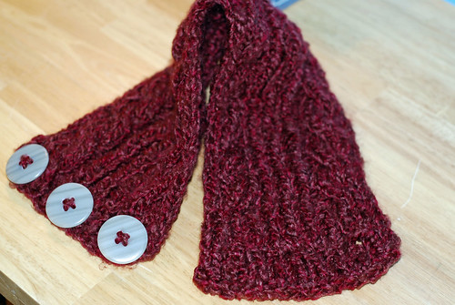 Knitting - Neck Warmer