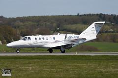 OE-FKO - 525A-0390 - Titanen Air - Cessna 525A Citation CJ2 - Luton - 100421 - Steven Gray - IMG_0207