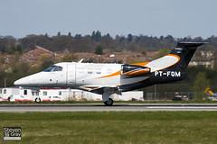 PT-FQM - 50000139 - Embraer - Embraer EMB-500 Phenom 100 - Luton - 100421 - Steven Gray - IMG_0219