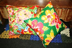 Almofada (Zizi Anil) Tags: arte artesanato artesanal fuxico manual patchwork decor decorao almofada futton colcha fuxicos almofadadefuxico colchadepatchwork colchadefuxico zizianil