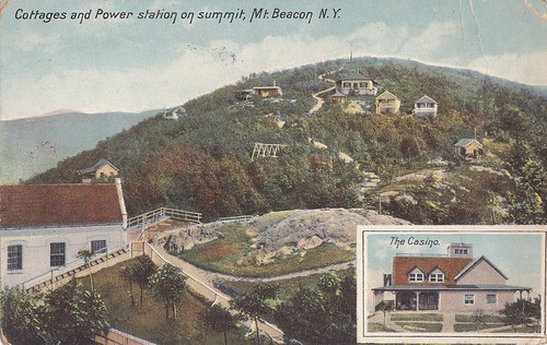 Cottages & Power Plant on Mt. Beacon