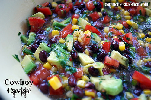 New Year's Eve Appetizers: Cowboy Caviar