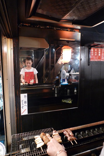 Yakitori Grill in Omoide Yokocho