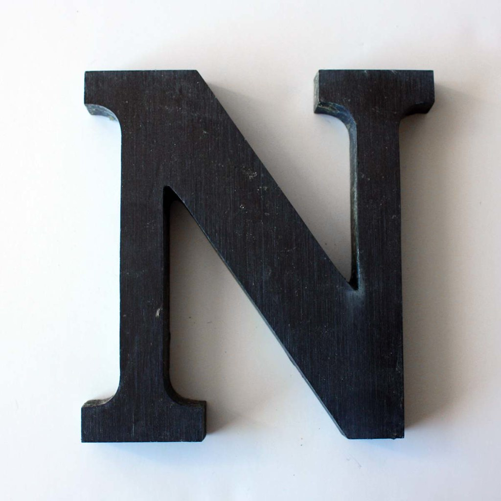 Letter N Small-2