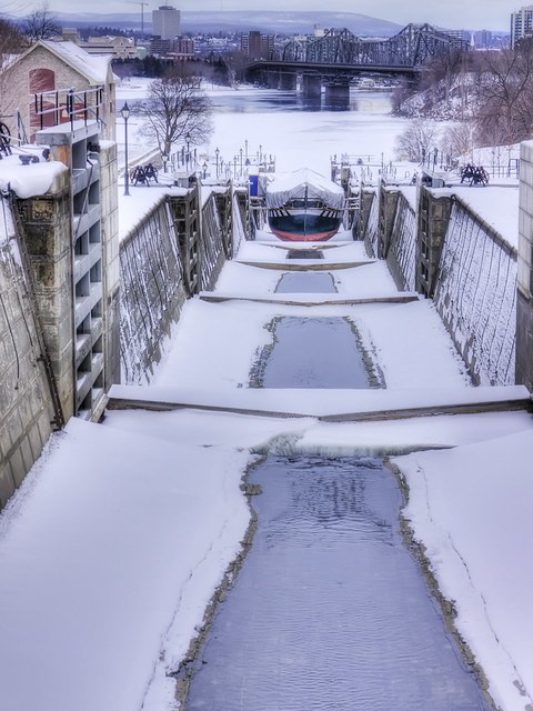 Down the Locks