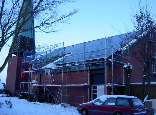 Solardach Kirche Etelsen 3