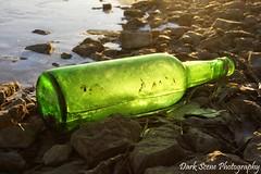 No Message Here... (Dark Scene Photography) Tags: winter ontario water bottle sony shore trenton sonya500