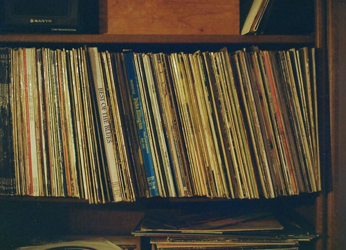 Dad's record collection
