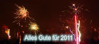 Alles Gute für 2011!