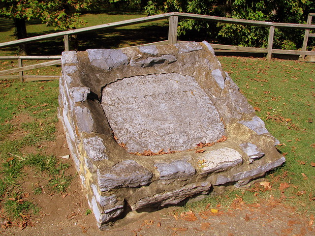 On This Spot Davy Crockett Was Born 1786