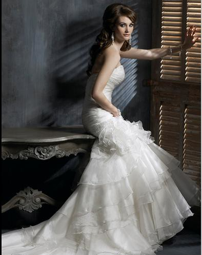 Maggie Sottero wedding dress,