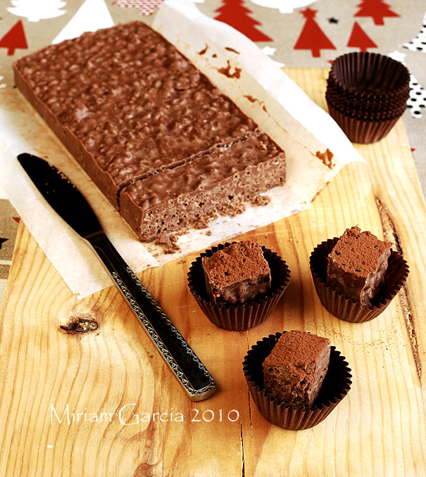 Chocolate turrón 3