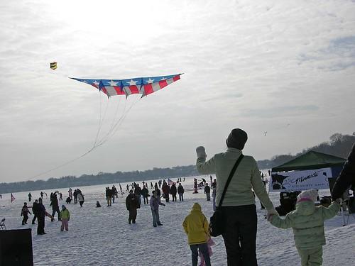 Winter Kite Festival 2008 look at that kite