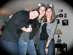 Christy, me and Amanda