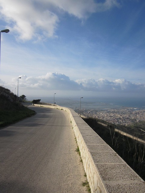 Ride down from Trapani