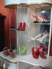 Re-ment Shoe Display