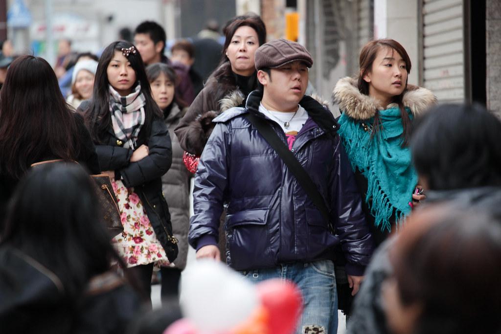 Walking in Kobe