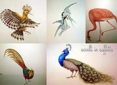 uccelli (pandecora (interior decorative painter)) Tags: art painting decorative interior klimt uccelli decor miro materia imitation oro trompe loeil damasco effetti pittura copie samfrancis