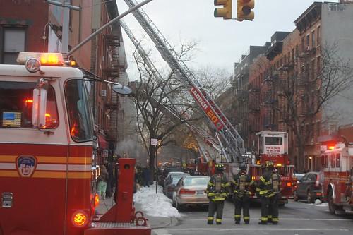 507 E. 6th Street Fire