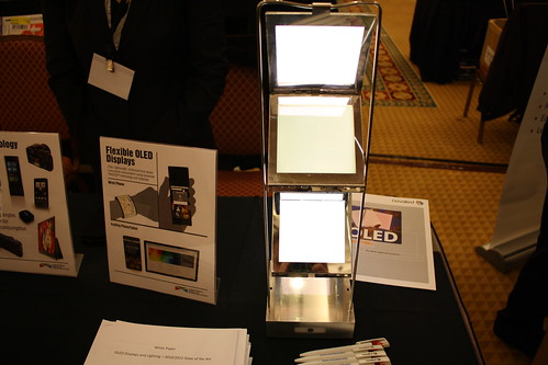 transparent oLED lighting panel