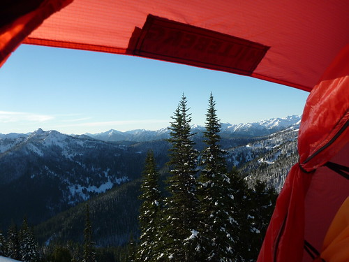 Obligatory View From Tent by Laurel Fan, on Flickr