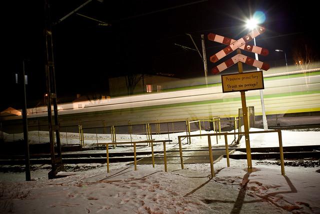 Przejazd kolejowy Skierniewice Rawka