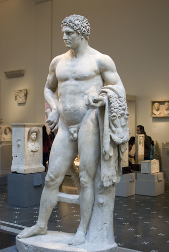 d5 MET Marble statue of a youthful Hercules