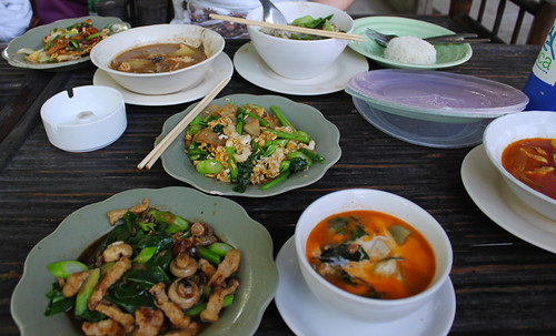 """Classic home cooking"" in Chiang Mai, day 61"