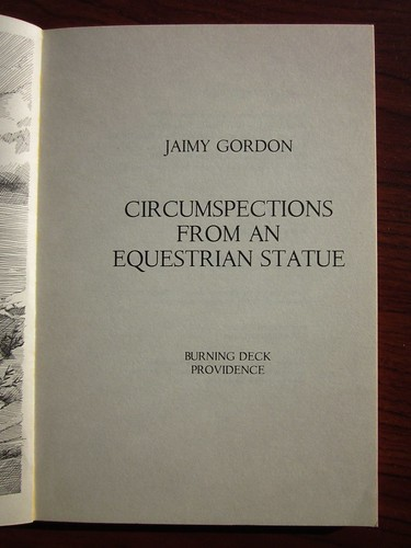 Circumspections From An Equestrian Statue