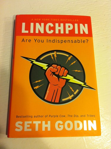 Linchpin by Seth Godin | 2011 Business reading list item #2
