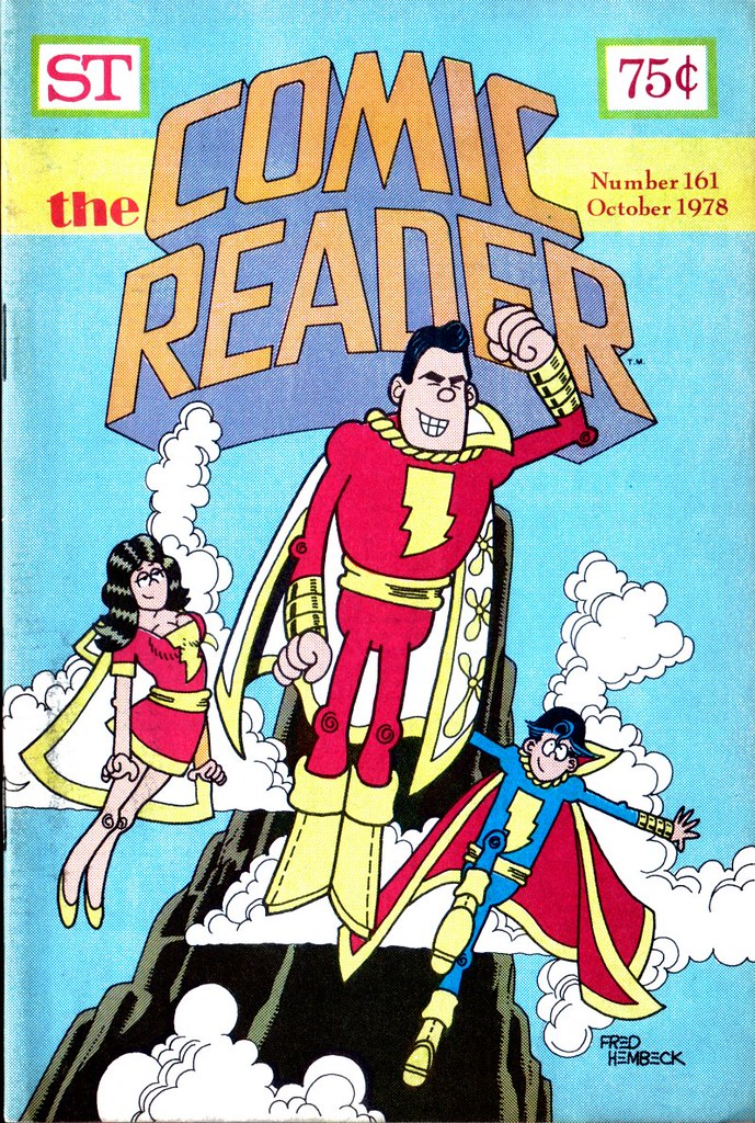 The Comic Reader 161 Captain Marvel Family by Fred Hembeck