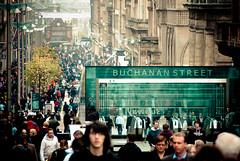 Buchanan Street (Jesus Belzunce) Tags: street uk people scotland gente glasgow jesus escocia buchanan belzunce cdgexplorer