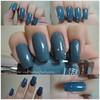 *-* (Kelly Cris Ju) Tags: azul cinza unhas esmaltes esmalte unhascoloridas esmalteimportado sallyhansengraybygray unhascompridas esmaltesallyhansen