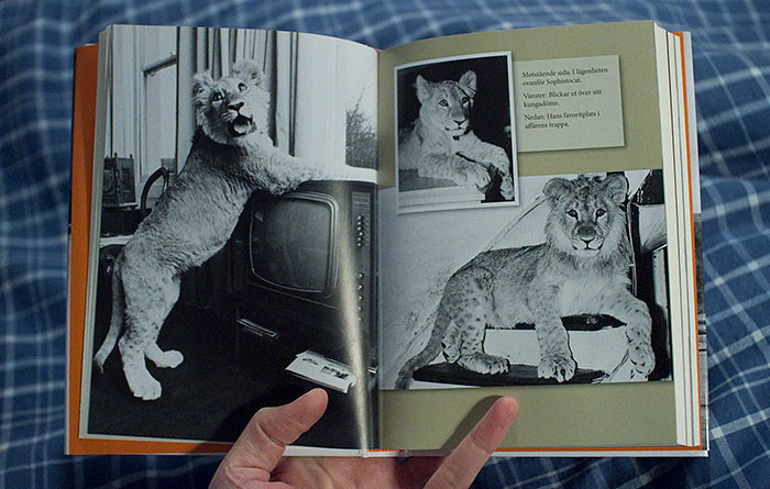Book about Christian the Lion