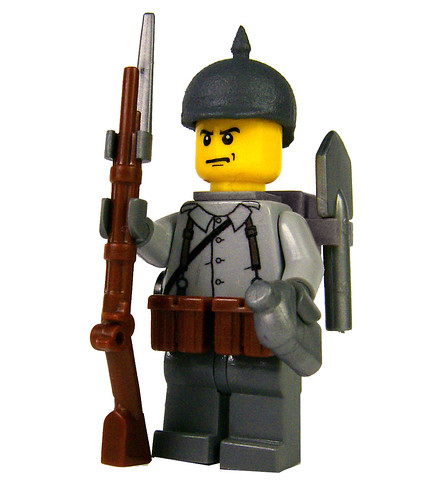 Custom minifig GermanWW1Soldier custom minifig