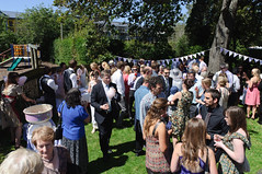 Rach's Wedding - outside the church (Craig vR) Tags: newzealand church otago dunedin rachaelswedding