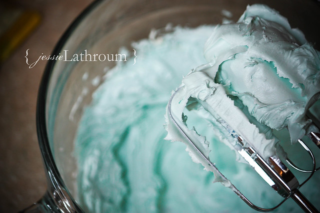 Blue Frosting
