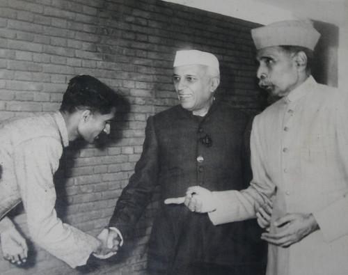 Nehru_Visit