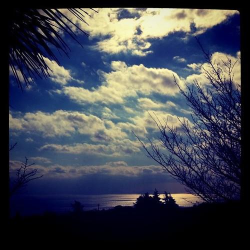 伊豆の空と海
