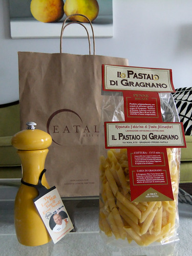 Pepper Grinder and Pasta, Eataly